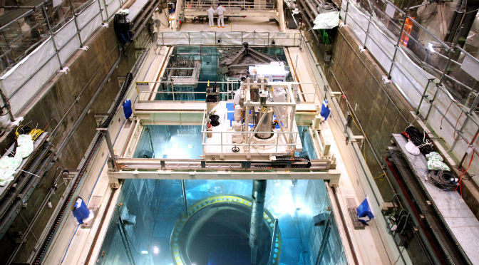 Behind the Scenes at a Nuclear Generating Station Refueling